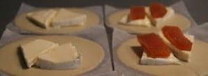 Empanadillas de queso y membrillo