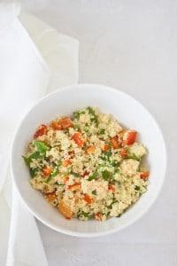 Tabuleh, ensalada árabe