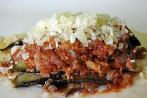 Berenjenas en salsa de tomate