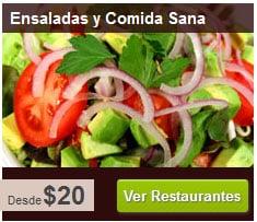 Buscar comidas a domicilio en México