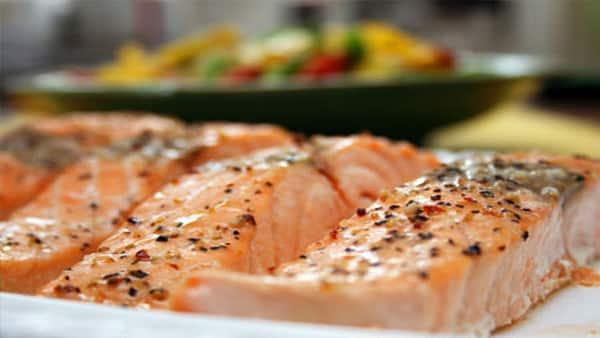 filete al horno de salmon con hierbas