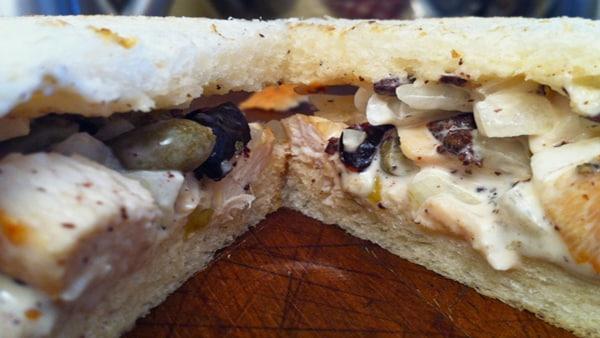 Sándwich de Pollo a la Parrilla con Mayonesa
