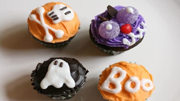Halloween - Panquesitos de Chocolate