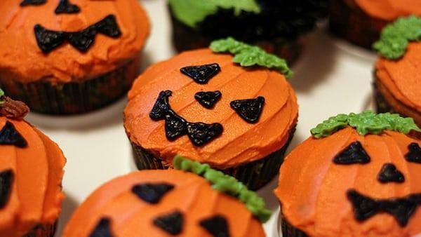 Halloween – Panquesitos de Vainilla