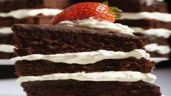 Pastel de Chocolate en Capas