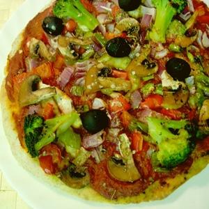 Pizza Integral de Verduras