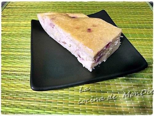 Tarta de queso con frutas del bosque