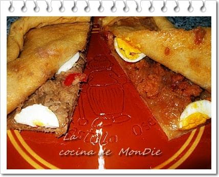 Empanada gallega doble