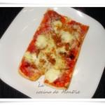 Baguette pizza