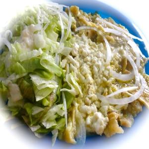Chilaquiles en Salsa Verde Light