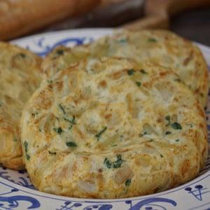 Tortilla de Patatas Confitadas