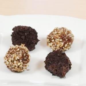 Trufas de Galletas de Chocolate Oreo