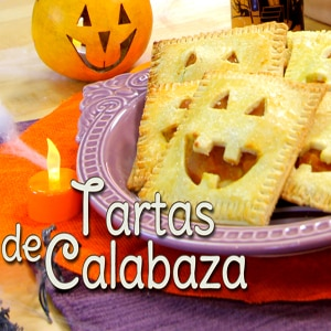 Tartas de Calabaza para Halloween