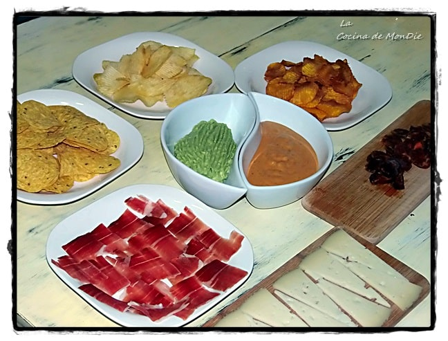 Salsa para nachos, patatas, etc.