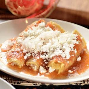Enchiladas de Pavo