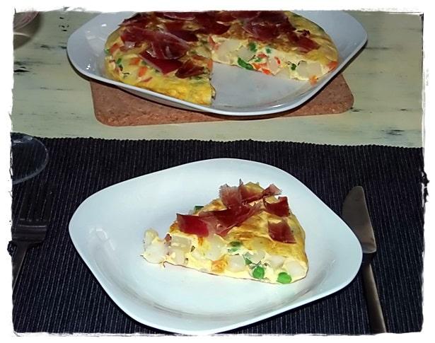 Tortilla a la mostaza
