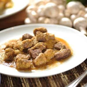 Carne con Chícharos