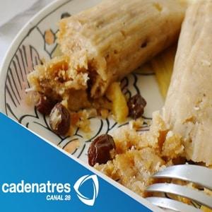 Tamales Rellenos de Frutas Secas