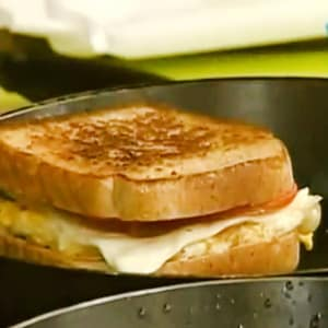 Sándwich para el desayuno