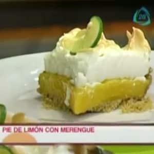 Pie de Limón con Merengue