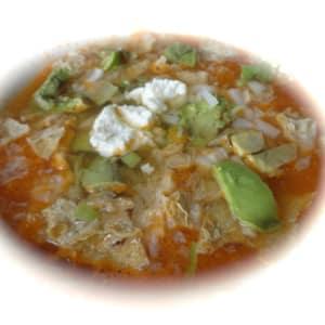 Sopa de Tortilla Light