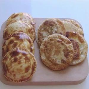 Pasteles de Calabacín con Jamón y Queso