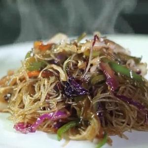 Fideo chino con Verduras