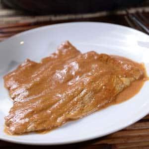 Filete de Cerdo en Cacahuate