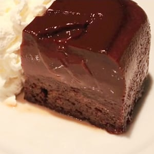 Pudding de Chocolate Casero