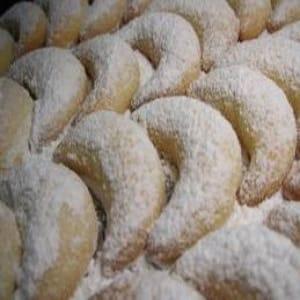 Cuernitos de Nuez - Galleta mexicanas de boda