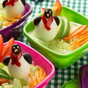 Pingüinos de Huevo