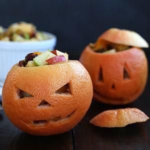 Toronjas de Calabaza para Halloween