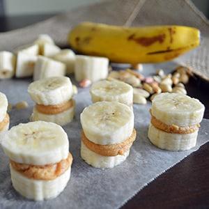 Sándwich de Plátano