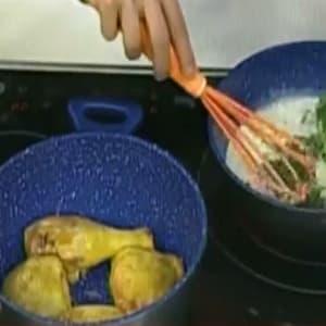 Pollo en Salsa Estragón