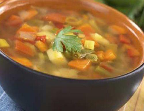Sopa de Verduras para adelgazar