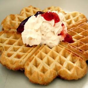 Waffles de Canela