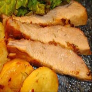 Carne de Cerdo a la Mostaza