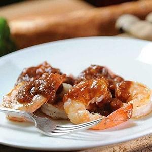 Camarones en Salsa de Tamarindo