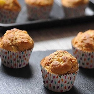 Cup cakes de Manzana y Miel