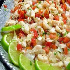 Ceviche de Pescado estilo Sinaloa