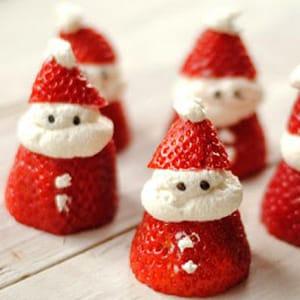 Fresas Santa Claus
