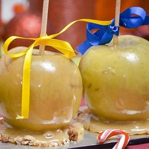 Manzanas Caramelizadas con Nuez