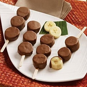 Plátano con Chocolate