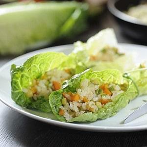 Rollos De Arroz Con Verduras Recetas De Cocina Ricas