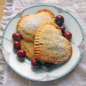 Tartaletas de Cerezas para San Valentín