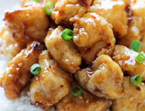 Pollo con Miel estilo oriental