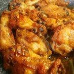 Muslos de Pollo con Limón al Horno