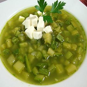 Sopa de Calabacitas