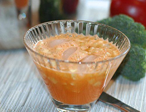 Agua fresca de Zanahoria con Pepino