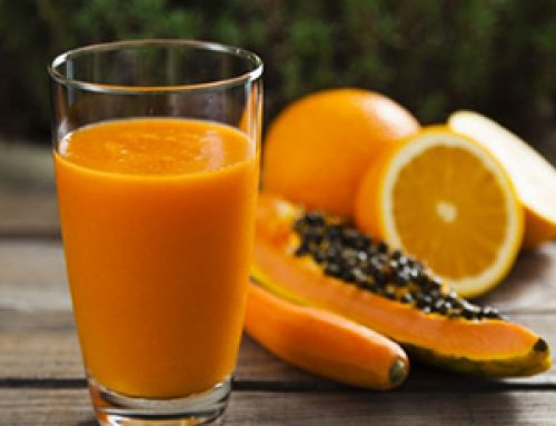 Jugo de Naranja con Papaya